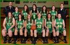 West Union Dragons Girls Varsity Basketball Winter 13-14 team photo.