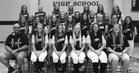 Lathrop Mules Girls Varsity Softball Fall 18-19 team photo.