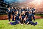 Lakeside Vikings Girls Varsity Softball Fall 18-19 team photo.