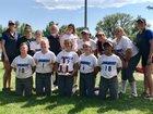 Longmont Trojans Girls Varsity Softball Fall 18-19 team photo.