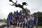 Highlands Ranch Falcons Girls Varsity Softball Fall 18-19 team photo.