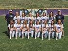 Douglas County Huskies Girls Varsity Softball Fall 18-19 team photo.
