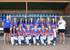 Cherry Creek Bruins Girls Varsity Softball Fall 18-19 team photo.