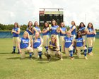Southeast Bulloch Yellowjackets Girls Varsity Softball Fall 18-19 team photo.