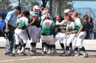 Smoky Hill Buffaloes Girls Varsity Softball Fall 18-19 team photo.