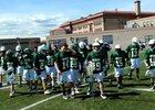 Bishop Machebeuf Buffaloes Boys Varsity Lacrosse Spring 16-17 team photo.