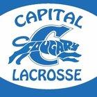 Capital Cougars Boys Varsity Lacrosse Spring 16-17 team photo.