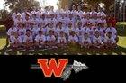 Woodbridge Warriors Boys Varsity Lacrosse Spring 16-17 team photo.