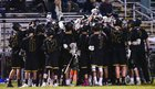 Topsail Pirates Boys Varsity Lacrosse Spring 16-17 team photo.