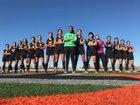 The Palmdale Aerospace Academy Griffins Girls Varsity Soccer Winter 17-18 team photo.