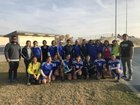 Parlier Panthers Girls Varsity Soccer Winter 17-18 team photo.