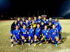 Carl Hayden Community Falcons Girls Varsity Soccer Winter 17-18 team photo.