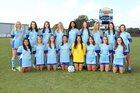 Sumrall Bobcats Girls Varsity Soccer Winter 17-18 team photo.