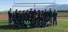 Coachella Valley Arabs Girls Varsity Soccer Winter 17-18 team photo.