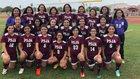 Pharr-San Juan-Alamo Bears Girls Varsity Soccer Winter 17-18 team photo.