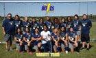 Ridge Community Bolts Girls Varsity Soccer Winter 17-18 team photo.
