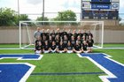 Rouse Raiders Girls Varsity Soccer Winter 17-18 team photo.