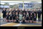 Oak Park Eagles Girls Varsity Soccer Winter 17-18 team photo.