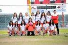 Arvin Bears Girls Varsity Soccer Winter 17-18 team photo.