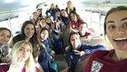 St. Thomas More Cougars Girls Varsity Soccer Winter 17-18 team photo.