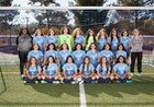 Saugus Centurions Girls Varsity Soccer Winter 17-18 team photo.