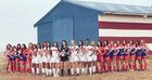 Buchanan Bears Girls Varsity Soccer Winter 17-18 team photo.