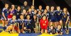 River City Raiders Girls Varsity Soccer Winter 17-18 team photo.