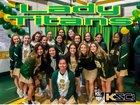 Notre Dame Titans Girls Varsity Soccer Winter 17-18 team photo.