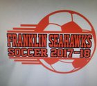 Franklin County Seahawks Girls Varsity Soccer Winter 17-18 team photo.