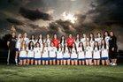 Eastlake Titans Girls Varsity Soccer Winter 17-18 team photo.