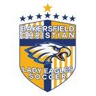 Bakersfield Christian Eagles Girls Varsity Soccer Winter 17-18 team photo.