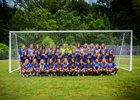 Madison Central Jaguars Girls Varsity Soccer Winter 17-18 team photo.