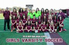 Red Oak Hawks Girls Varsity Soccer Winter 17-18 team photo.