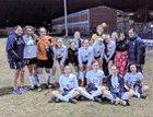Flowing Wells Caballeros Girls Varsity Soccer Winter 17-18 team photo.