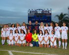 Freedom Patriots Girls Varsity Soccer Winter 17-18 team photo.
