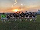 Sunlake Seahawks Girls Varsity Soccer Winter 17-18 team photo.