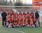 California Grizzlies Girls Varsity Soccer Winter 17-18 team photo.