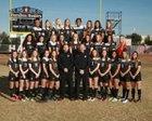Hamilton Huskies Girls Varsity Soccer Winter 17-18 team photo.