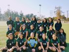 Academia Avance Guerreros Jaguares Girls Varsity Soccer Winter 17-18 team photo.