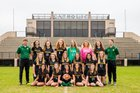 Pensacola Catholic Crusaders Girls Varsity Soccer Winter 17-18 team photo.