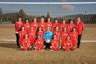 Big Bear  Girls Varsity Soccer Winter 17-18 team photo.