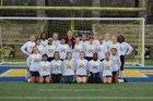 Olive Branch Conquistadors Girls Varsity Soccer Winter 17-18 team photo.
