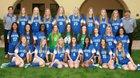 Xavier College Prep Gators Girls Varsity Soccer Winter 17-18 team photo.
