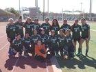 Pasadena Eagles Girls Varsity Soccer Winter 17-18 team photo.