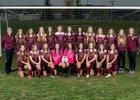 Whitney Wildcats Girls Varsity Soccer Winter 17-18 team photo.
