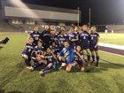Lincoln Tigers Girls Varsity Soccer Winter 17-18 team photo.