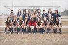 Stone Ridge Christian Knights Girls Varsity Soccer Winter 17-18 team photo.