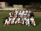 Foshay Wolverines Girls Varsity Soccer Winter 17-18 team photo.