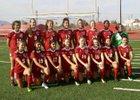 Maricopa Rams Girls Varsity Soccer Winter 17-18 team photo.