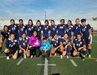 South East Jaguars Girls Varsity Soccer Winter 17-18 team photo.